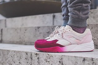 "A First Look at the Ronnie Fieg x PUMA R698 ""Sakura"""