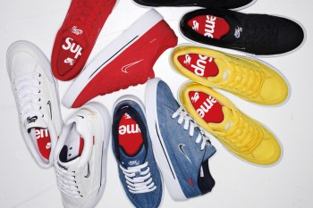 A First Look at the Supreme x Nike SB GTS Collection