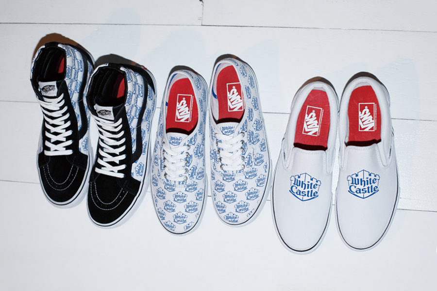 A First Look at the White Castle x Supreme x Vans 2015 Spring/Summer Collection