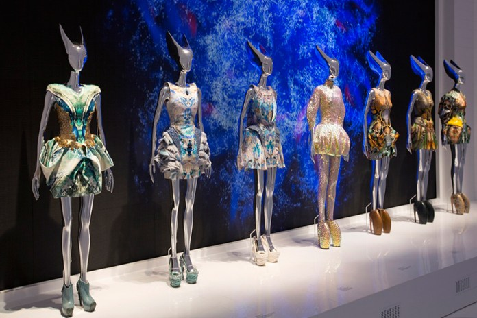 """A Look Inside the Opening of """"Alexander McQueen: Savage Beauty"""""""