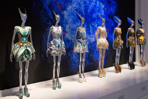 "A Look Inside the Opening of ""Alexander McQueen: Savage Beauty"""