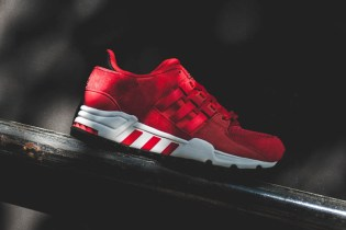 "adidas Equipment Running Support ""Scarlet Red"""