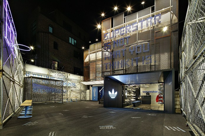 "adidas ""Hall of Fame"" Seoul Pop-Up by Urbantainer"