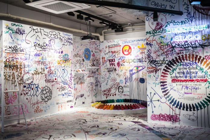 adidas Originals Seoul Flagship Store Features Crowd-Sourced Art in the Supercolor Studio