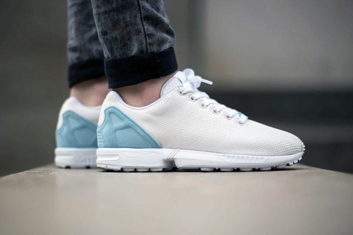 adidas Originals ZX Flux Weave Off White/Blush Blue