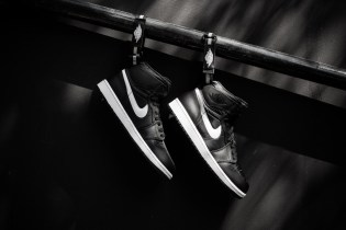 Air Jordan 1 High Strap Black/White