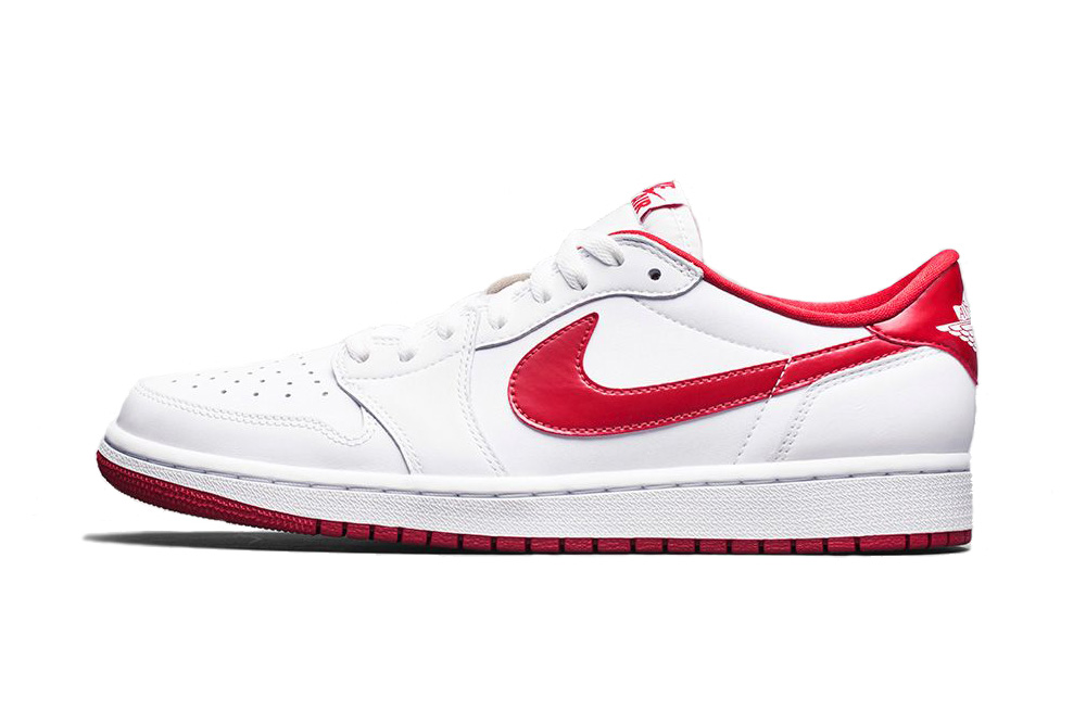 Air Jordan 1 Retro Low OG White/Varsity Red