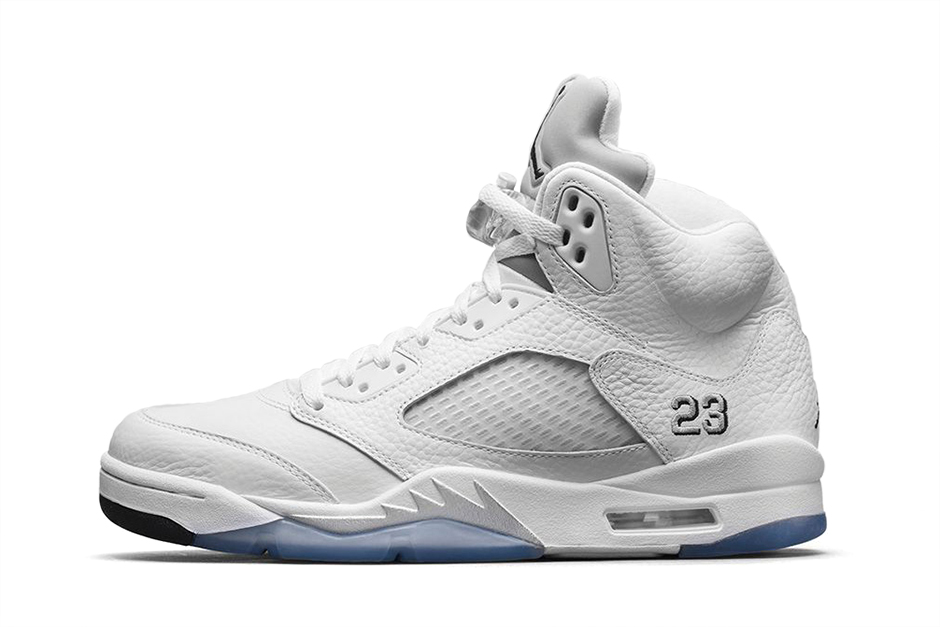 "Air Jordan 5 Retro ""Metallic Silver"""