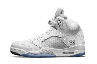 "Air Jordan 5 Retro ""Metallic Silver"""