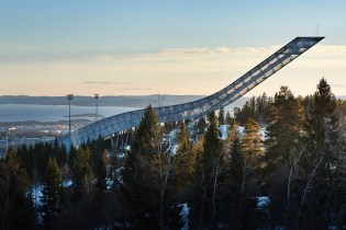 Airbnb is Turning the Holmenkollen Ski Jump Into a Penthouse for One Night