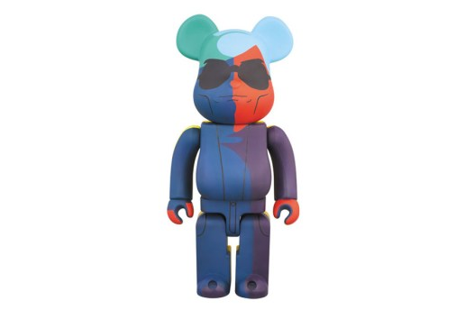 Andy Warhol x Medicom Toy 400% Bearbrick