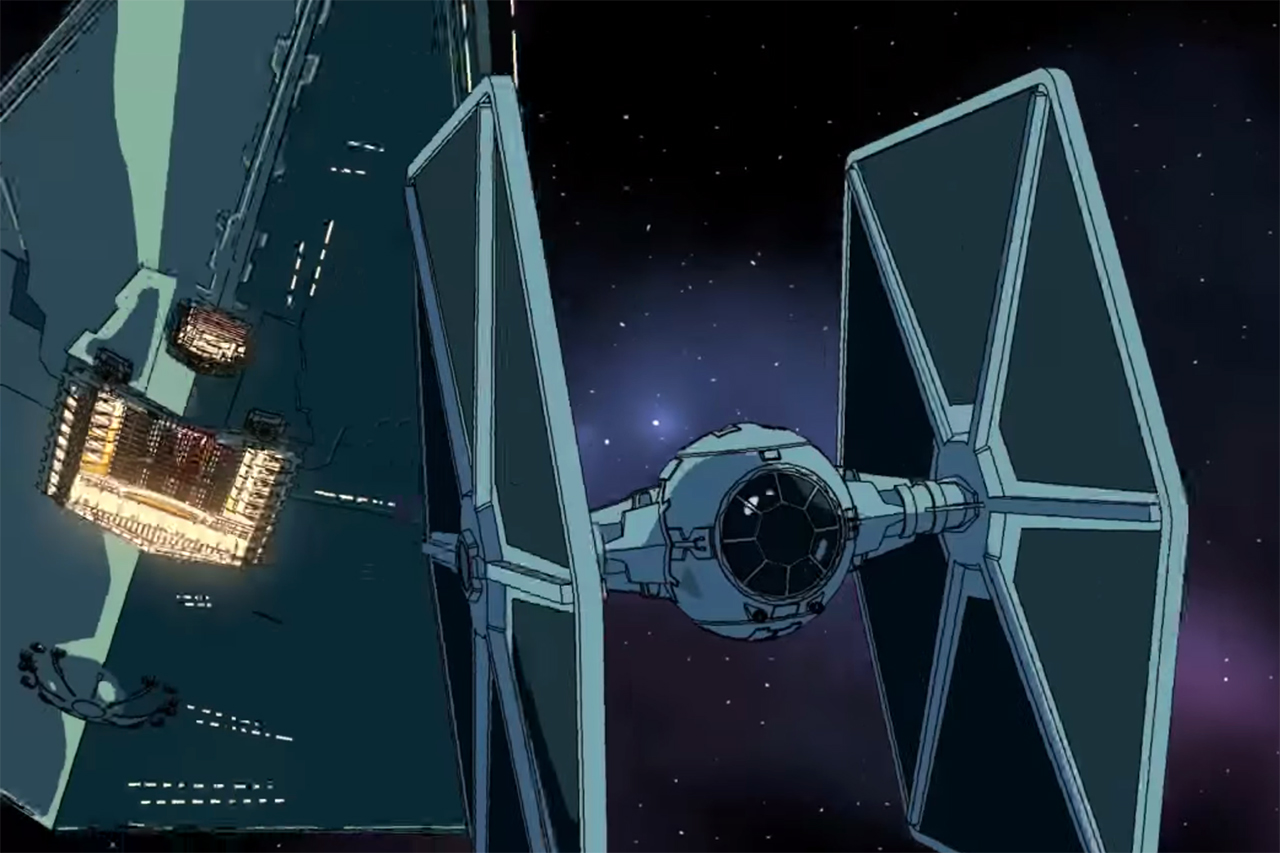 Animated 'TIE Fighter' Short Shows 'Star Wars' Battle From the Empire's Perspective