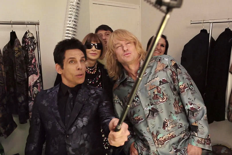 Anna Wintour Talks Runway Walks with Derek Zoolander and Hansel at Valentino's Backstage