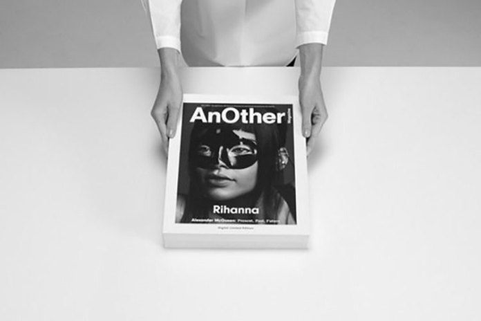'AnOther' Digital Magazine Has LED Moving Cover featuring Rihanna