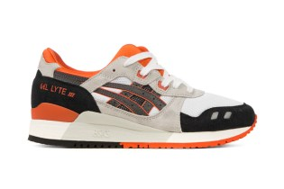 ASICS GEL-Lyte III White/Black