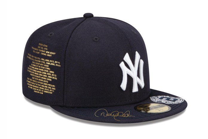 atmos x New Era NY Yankees Derek Jeter Fitted Cap