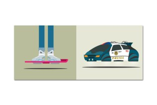 'Back to the Future' Illustration Tribute