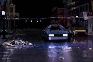 'Back to the Future' Scene Gets Perfectly Recreated in LEGO