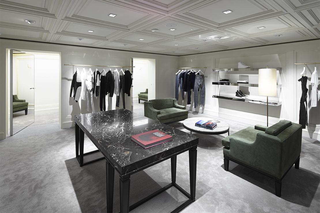 Balmain Opens London Flagship Store