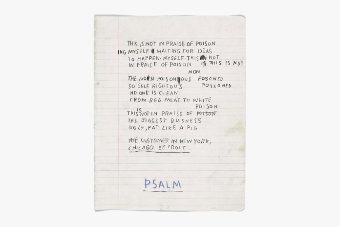 """Basquiat: The Unknown Notebooks"" @ Brooklyn Museum"