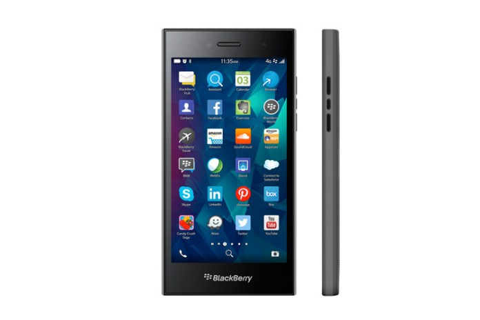"""BlackBerry Launches the 5"""" Leap Smartphone"""