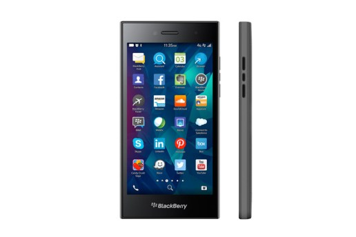 "BlackBerry Launches the 5"" Leap Smartphone"