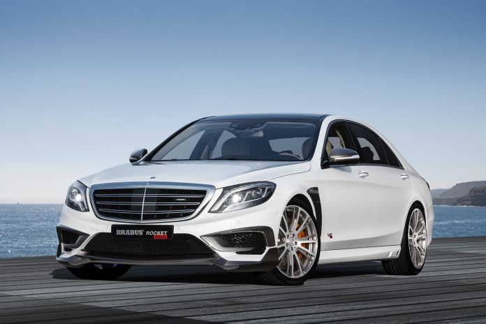 Brabus-Modified 900-Horsepower Mercedes S65