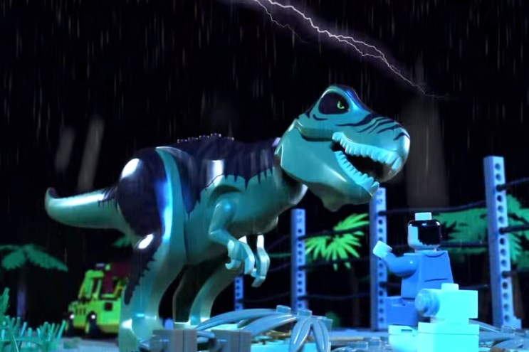 Digital Wizards Recreates Jurassic Park Using $100K USD Worth of LEGO Pieces