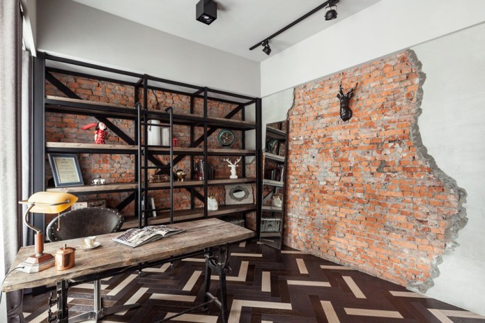 A Refurbished Apartment in Taipei by CHI-TORCH Designs