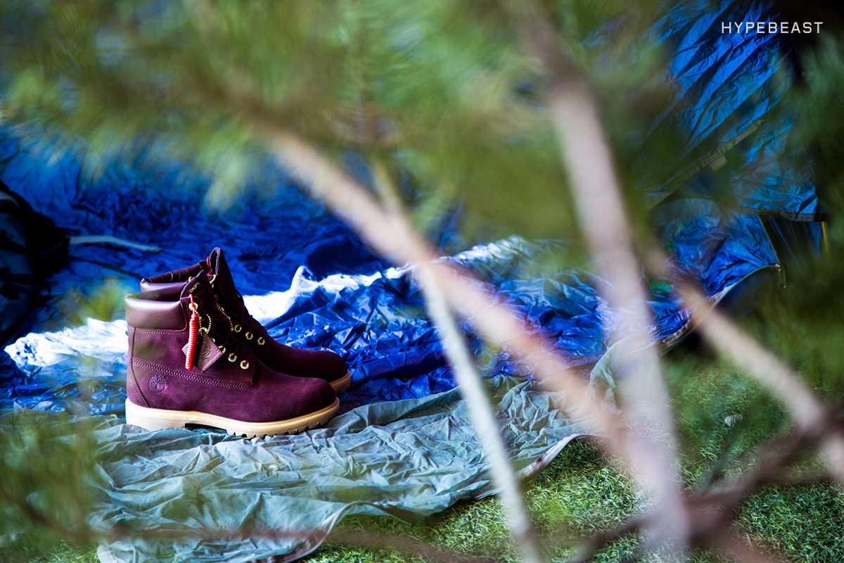 """Concepts x Timberland """"Purple Eggplant"""" 6-Inch Boot Pop-Up Store"""