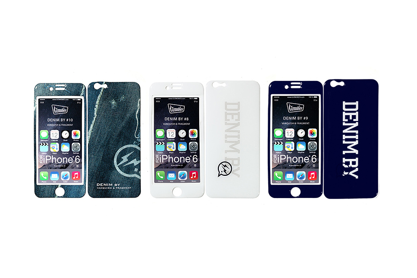 DENIM BY VANQUISH & FRAGMENT x Gizmobies 2015 Spring/Summer iPhone 6 Cases