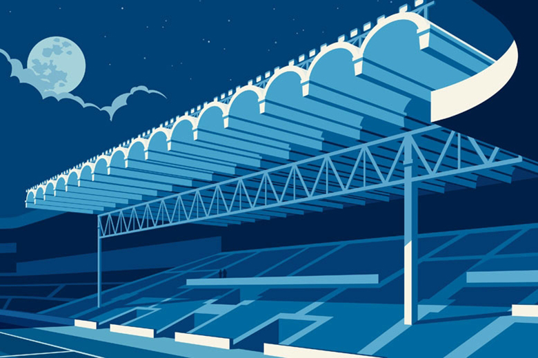 """Dorothy's """"Lost Destination"""" Series Celebrates Football's Forgotten Grounds"""