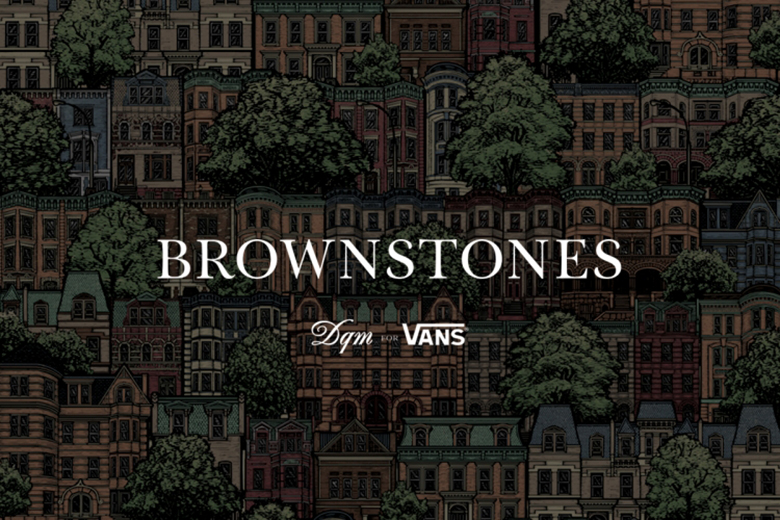 """DQM x Vans 2015 Spring """"Brownstones"""" Collection"""