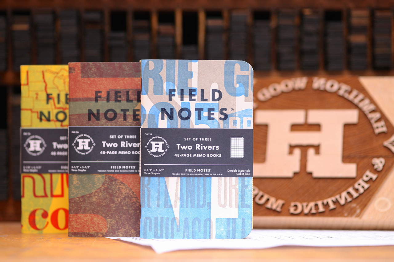 """Field Notes """"Two Rivers"""" Notebooks"""