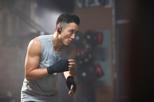 Flyweight Champ Zou Shiming Flexes in Beats by Dre Powerbeats2 Wireless