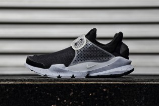 "A First Look at the fragment design x NikeLab Sock Dart ""Black"""