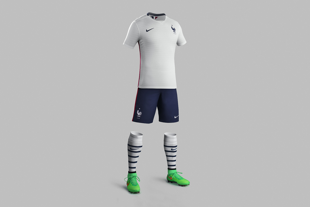 French Football Federation Reveals 2015-2016 Away Kit from Nike