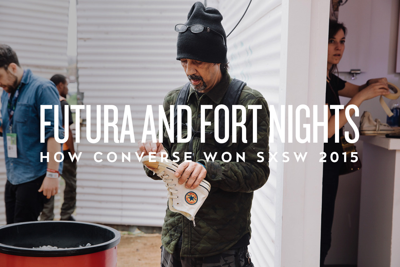 """""""Futura and Fort Nights"""": How Converse Won SXSW 2015"""