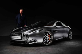 Henrik Fisker and Galpin Auto Sports Unveil the Aston Martin Vanquish Based Thunderbolt