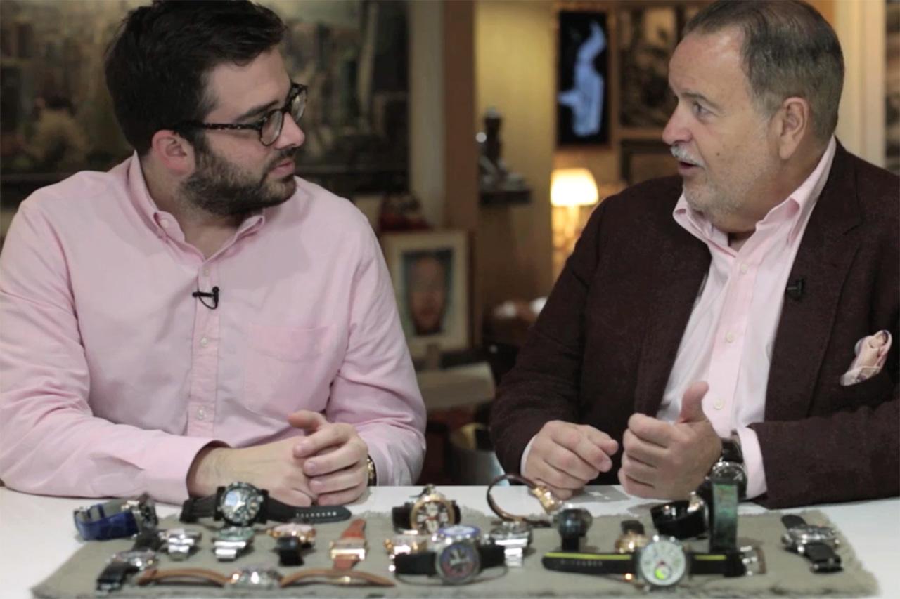 """HODINKEE Presents: """"Talking Watches"""" with Raúl de Molina of """"El Gordo y la Flaca"""""""