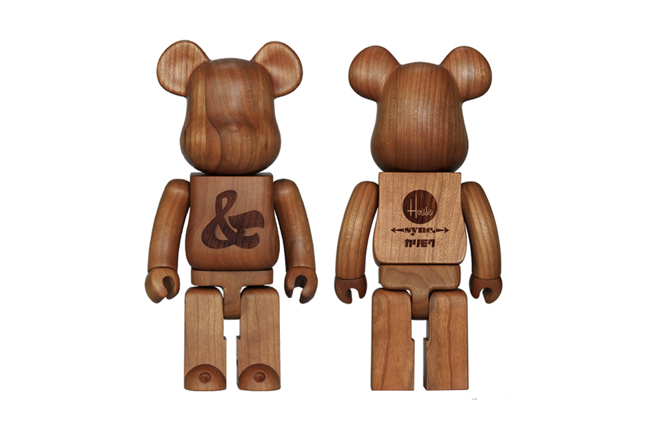 House Industries x Karimoku x Medicom Toy Bearbrick 400%
