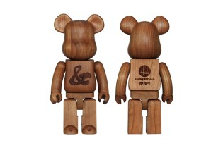 House Industries x Karimoku x Medicom Toy Bearbrick 400%