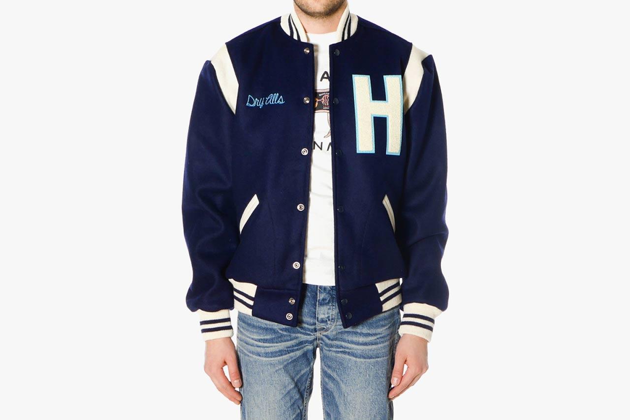 HUMAN MADE x Ebbets Field Flannels Varsity Jacket