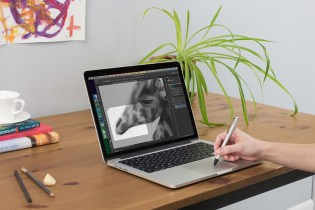 Inklet Turns Apple's New MacBook TrackPad into a Drawing Tablet