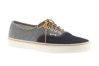 J.Crew x Vans Two-Tone Denim Pack