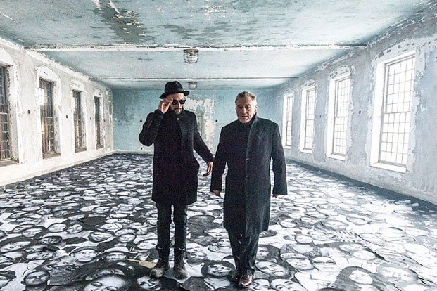 JR Directs 'The Ghost of Ellis Island' Starring Robert De Niro