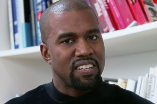 Kanye West Sits Down with Clique at A.P.C.'s Headquarters