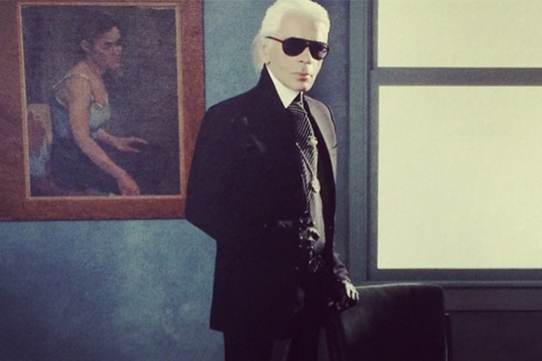 "Karl Lagerfeld to Present Mega Fashion Retrospective ""Modemethode"""