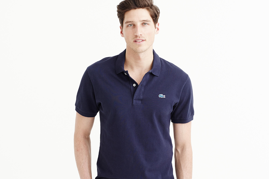 Lacoste for J.Crew 2015 Spring/Summer Polo Shirt