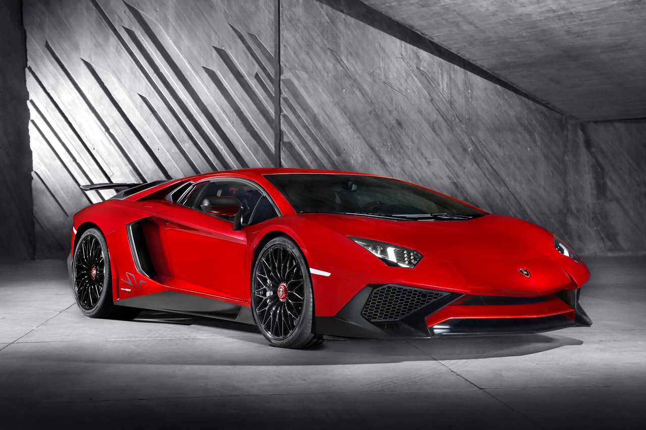 Lamborghini Aventador SV is Lighter with New Specs
